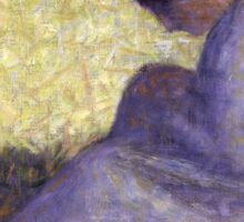Georges Seurat - Seated Woman Sticker