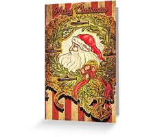 Submarine Santa Greeting Card