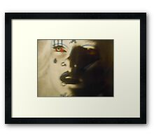 Thief In The Shadows Framed Print