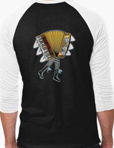 Accordion Avatar Men's Baseball ¾ T-Shirt