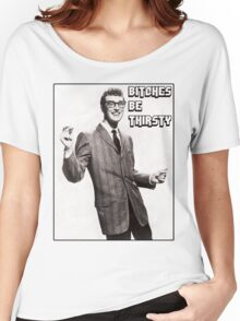 Buddy's view on Bitches Women's Relaxed Fit T-Shirt