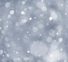 Snowfall background by Elena Elisseeva