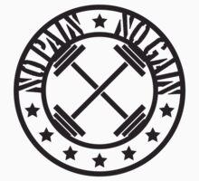 Bodybuilder No Pain No Gain Logo by Style-O-Mat