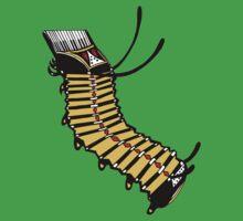 accaterpillion accordion + caterpillar! Kids Tee
