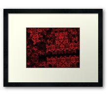 Digital Autumn Framed Print