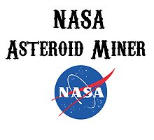 Asteroid Miner Wanted by ishbandori