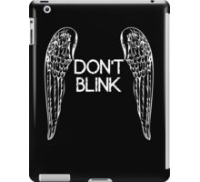 [Doctor Who] Don't Blink - Wings iPad Case/Skin