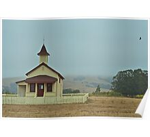 Old Schoolhouse Poster