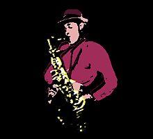 Saxophone by Grobie