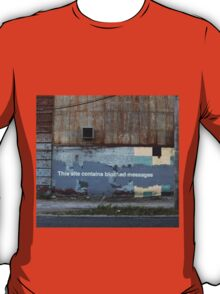 This site contains blocked images T-Shirt