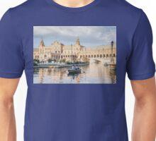 Boating in Plaza de Espana - Seville Unisex T-Shirt