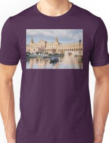 Boating in Plaza de Espana - Seville Unisex T-Shirt