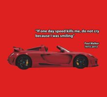 In Memory of Paul Walker - Porsche Carrera GT by carsaddiction