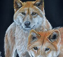 Dingo Siblings by Beverley Jacobs