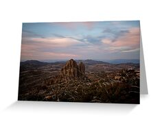 The Cathedral, Mt Buffalo Greeting Card