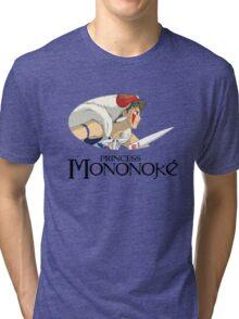 Mononoke Hime Tri-blend T-Shirt