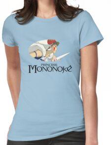 Mononoke Hime Womens Fitted T-Shirt