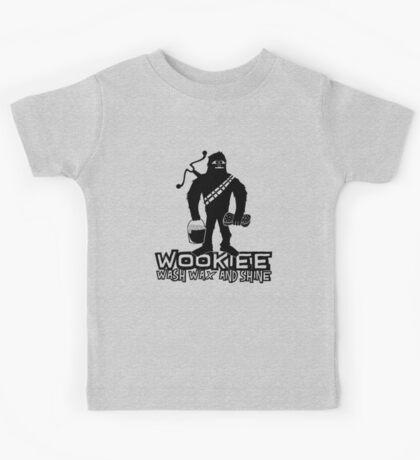 Wookiee Wash Wax and Shine Kids Tee
