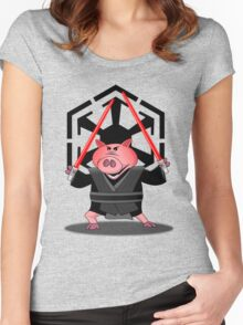 Revenge of the Bacon Women's Fitted Scoop T-Shirt
