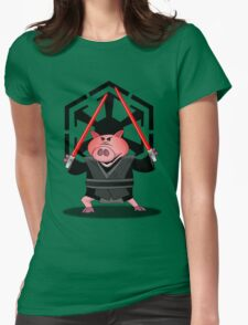 Revenge of the Bacon Womens Fitted T-Shirt