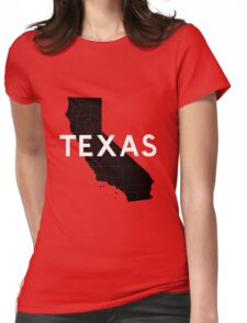 Texas! Wait... Womens Fitted T-Shirt