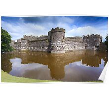 Beaumaris Castle Poster
