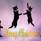 Christmas Cat Dance by Ladymoose