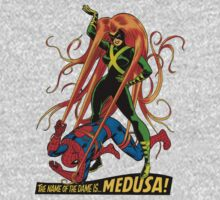Medusa vs Spidey by bobmorlock