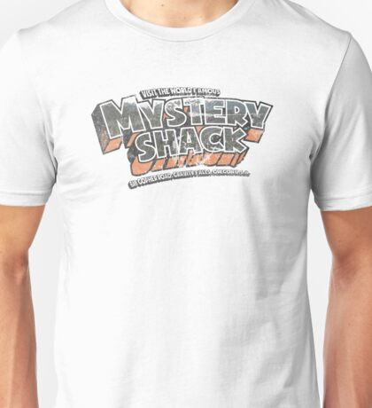 Mystery Shack (Distressed Look) Unisex T-Shirt