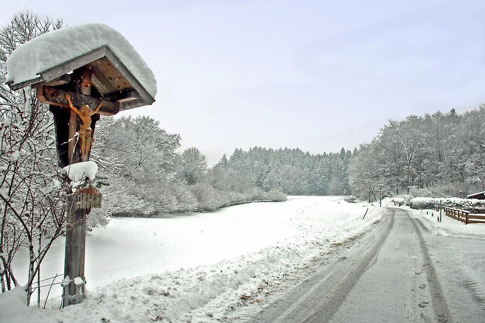 Winter in Tirol - Austria by Arie Koene
