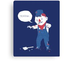 zombie conductor Canvas Print
