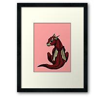Ruby the Baby Dragon Framed Print