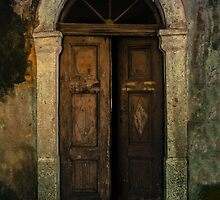 Old wooden doors and nice arch by JBlaminsky