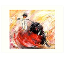 Passion And Motion Art Print