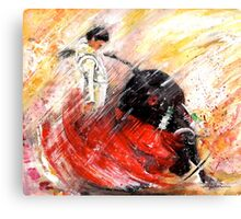 Passion And Motion Canvas Print
