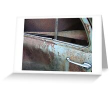 decay of transport. Greeting Card