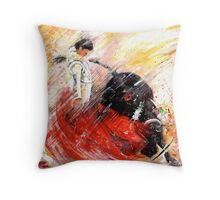 Passion And Motion Throw Pillow