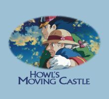 Howl's Moving Castle - Howl and Sophie Baby Tee