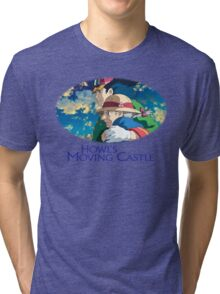 Howl's Moving Castle - Howl and Sophie Tri-blend T-Shirt