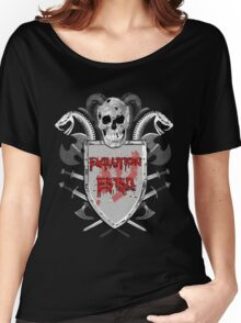 EvilutionE5150 Metal Design 7 Women's Relaxed Fit T-Shirt