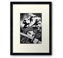 The Hint of Menace Framed Print