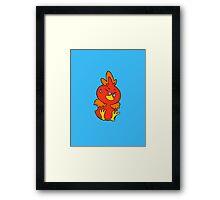 Flemmli/Torchic Framed Print