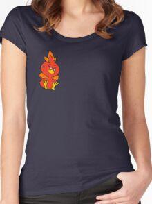 Flemmli/Torchic Women's Fitted Scoop T-Shirt