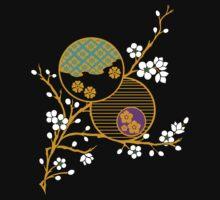 Blossom Kimono Fragment by mingtees