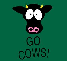 Go Cows South Park Womens Fitted T-Shirt