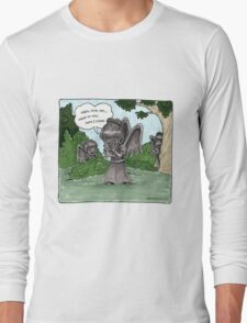 Weeping Angel Games Long Sleeve T-Shirt