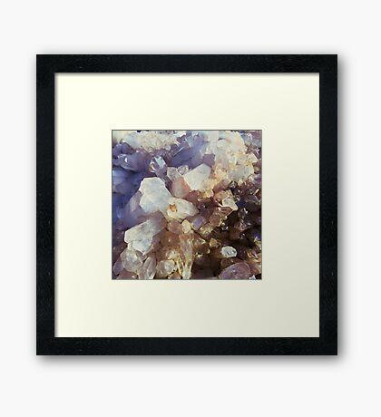 Crystal Magic Framed Print
