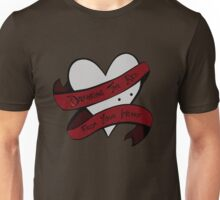 Drinking the Red from your Heart Unisex T-Shirt