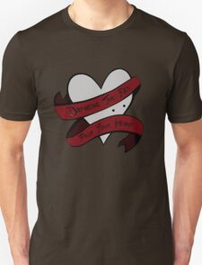 Drinking the Red from your Heart T-Shirt