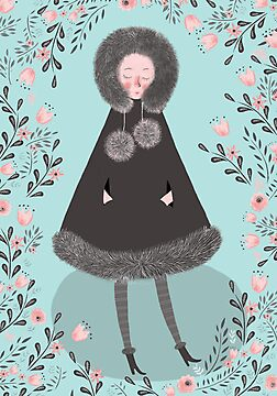 WINTER GIRL by Jane Newland